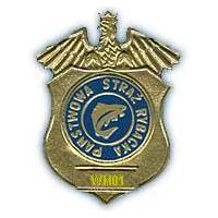 Emblematy, naszywki Straż Rybacka, Polski Związek Wędkarski PZW