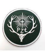 Naszywka Straż Leśna Forest Guard haftowana 68x85mm