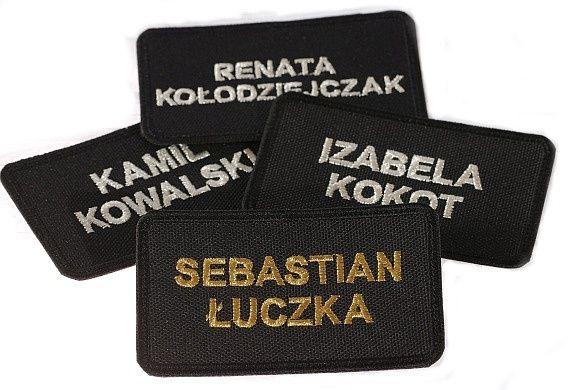 haft komputerowy naszywka emblemat imiennik imie nazwisko osp psp