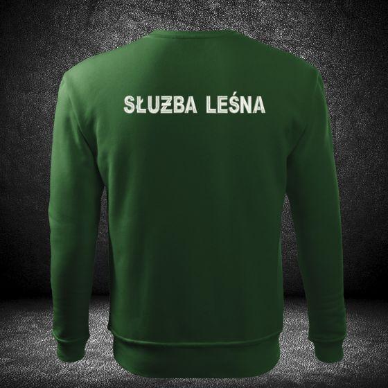 haftowana bluza służba leśna dla straży leśnej haftowany napis na plechach