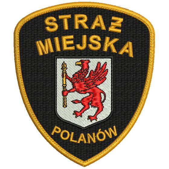 Polanów - Naszywka Straż Miejska SM0006 IND