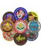 naszywki okrągłe haftowane emblemat logo projekt indywidualny, nasywki