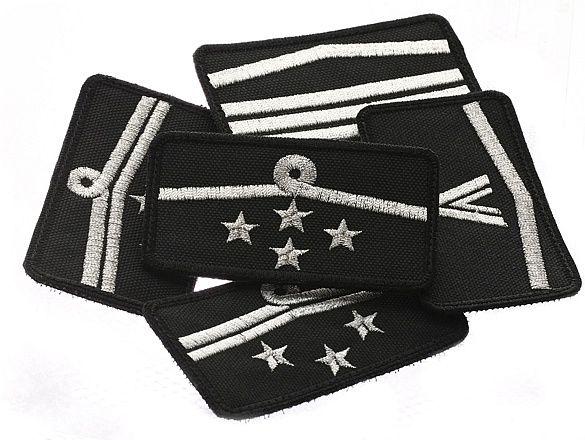 osp haft dystynkcje haftowane metalizowane nić srebrna, dysfukcje, stopnie