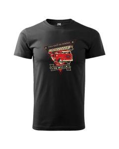 Kultowy STAR 21, męska koszulka  STRAŻACKA z nadrukiem DTG0022