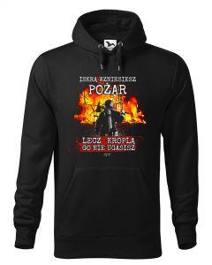 Męska koszulka STRAŻACKA z nadrukiem prezent dla strażaka DTG0043