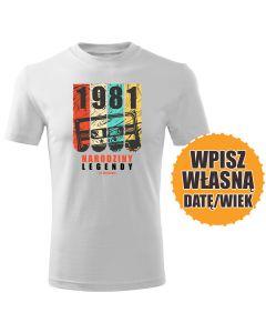 Nienawidzę tej koszulki biała koszulka urodzinowa DTG0054