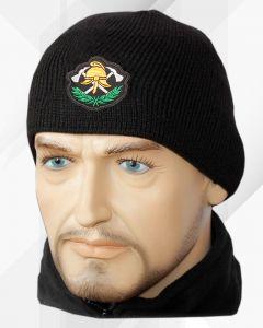 polar naszywka ciepla czapka zimowa komputerowe haftowanie