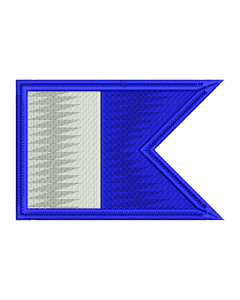 PADI naszywka nurkowa haftowana 100 X 75 mm IND