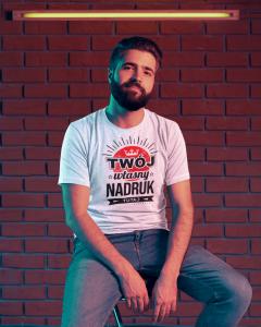 Koszulka firmowa z własnym Logo druk DTG sitodruk Gorzów Wlkp.
