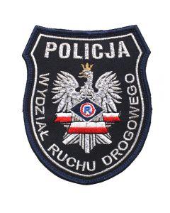 Naszywka naramienna Policja OFICER PRASOWY. Haftowane naszywki policyjne na zamówienie