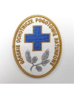 Naszywka Zintegrowana Służba Ratownicza Sekcja OŚW112