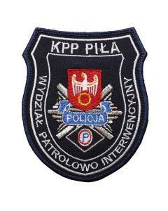 Naszywka policja komisariat policji w Czersku NPO1037 IND