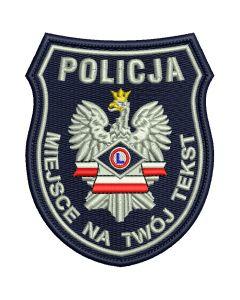 Naszywka Policja Służba Kryminalna IND WZ01