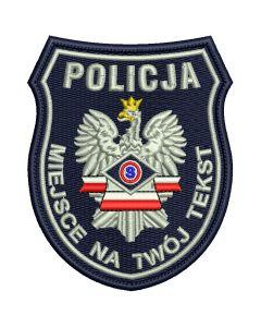 Naszywka Policja Prewencja IND WZ01