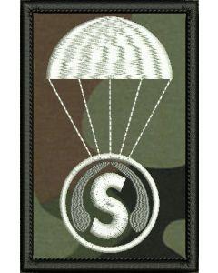 Sobieszyn gapa, indywidualna naszywka (S10001-01)