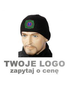 czapka zimowa, straż pożarna haft komputerowy Twoje logo
