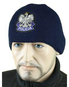 czapka na polarze POLICJA