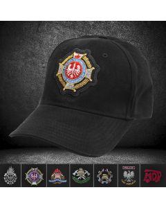 czapka z daszkiem straż pożarna haft komputerowy Twoje logo