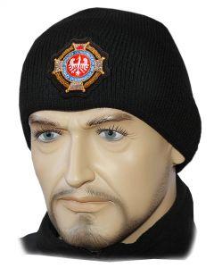 Czapka OSP ognik ochotnicza straż pożarna, czapka straż polar