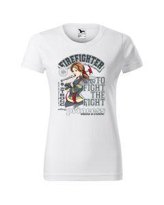 Koszulka piaskowa STRAŻ OSP PSP (kol. coyote) DTG