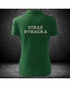DAMSKA POLO koszulka STRAŻ RYBACKA haft. Koszulka damska dla straży rybackiej