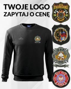 haft komputerowy, bluza strażacka, z haftowanym herbem osp