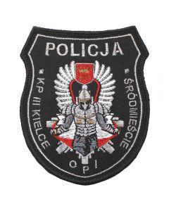 Kielce - Naszywka Policja KIELCE ŚRÓDMIEŚCIE KP III Kielce OPI NPO1029 IND