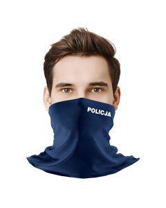 Czpaka policyjna, haftowane logo, czapka policja granatowa