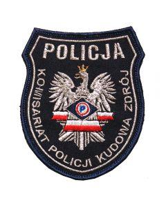 Naszywka Policja Kościerzyna – KPP Kościerzyna Posterunek Policji Liniewo IND