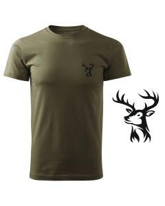 Lovelas, koszulka tshirt militarny z nadrukiem DTG063