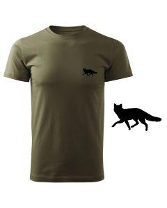 Koszulka t-shirt myśliwska pies myśliwski z nadrukiem DTG075