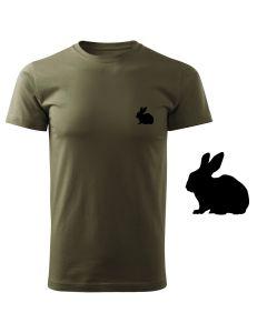 Koszulka t-shirt Lis myśliwska myśliwy  z nadrukiem DTG076