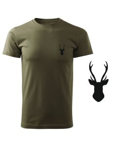 Koszulka t-shirt strzelba myśliwska myśliwy z nadrukiem DTG078