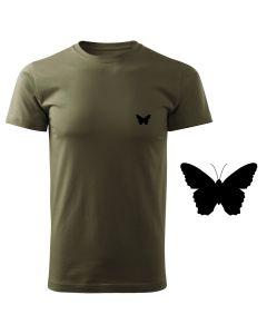 Koszulka poroże t-shirt myśliwska myśliwy z nadrukiem DTG092