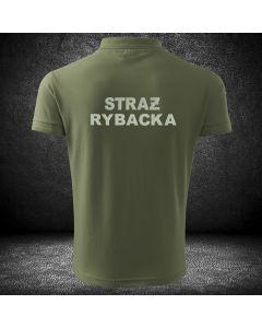 POLO koszulka STRAŻ RYBACKA haft. Koszulka polo dla straży rybackiej