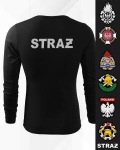 Koszulka straż haftowana OSP