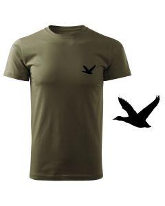 Koszulka t-shirt myśliwska myśliwy z nadrukiem DTG064