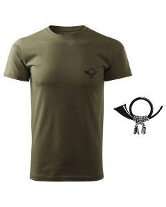 Koszulka t-shirt motyl myśliwska myśliwy z nadrukiem DTG093