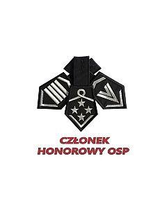 dystynkcje honorowe OSP, w spoczynku, emerytowany, z honorami, haft