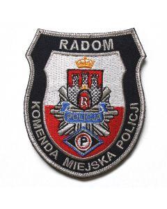 Naszywka Policja Posterunek Policji w Osiu NPO1019