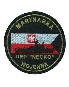 12 Woliński Dywizjon Trałowców Świnoujście, naszywka wojskowa