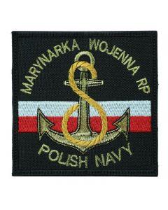 Marynarka Wojenna RP Polish Navy, naszywka wojskowa