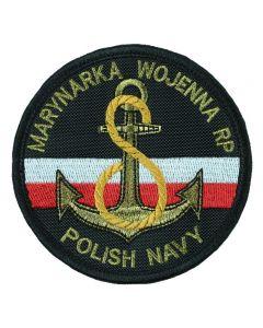 Marynarka Wojenna ORP Necko, naszywka wojskowa