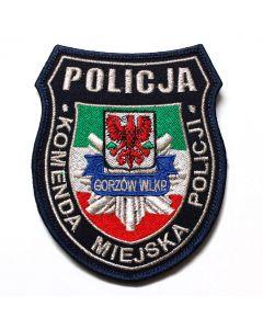 Haftowana naszywka Policja komenda główna policji Gorzów Wlkp NPO1004