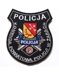 Naszywka Policja komenda Powiatowa Policji Starogard Gdański NPO1018