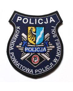 Naszywka Policja Komenda Powiatowa Policji Police NPO1009