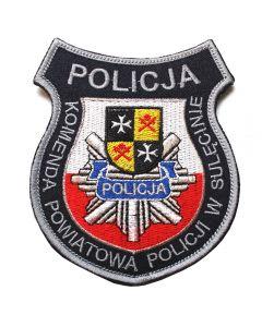 Naszywka Policja Komenda Powiatowa Policji w Nowej Soli NPO1006