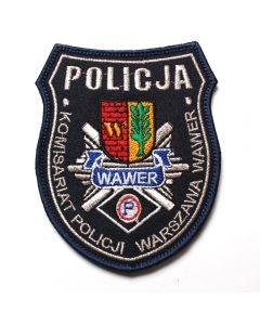 Naszywka Policja Komisariat Policji w Nowogradzie NPO1016