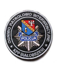 Naszywka Policja Oddział Prewencji Wrocław NPO1003