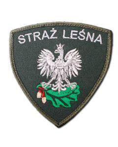 Naszywka PZW polski związek wędkarski 85mm PZW005